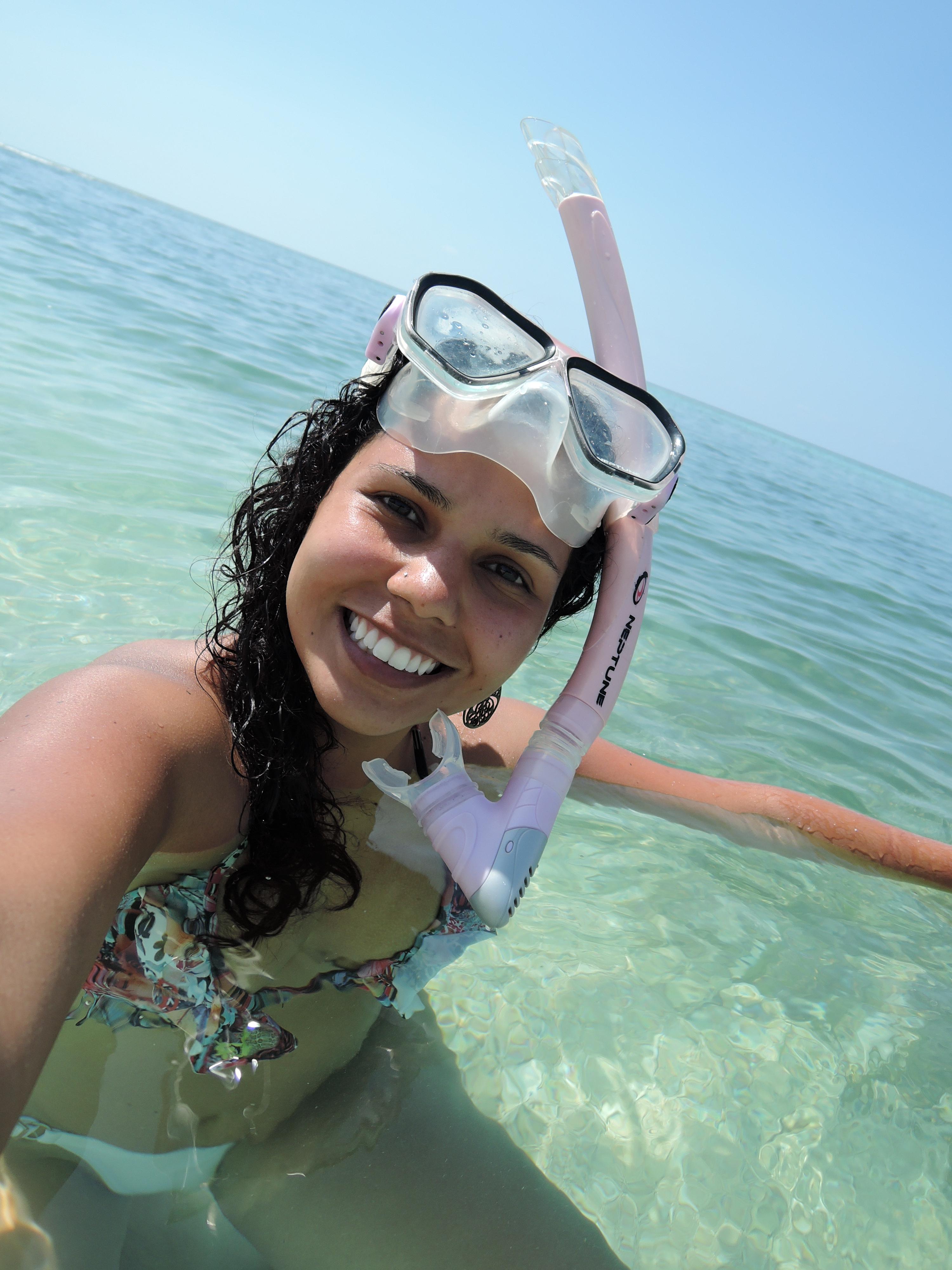 snorkelling Gili Meno