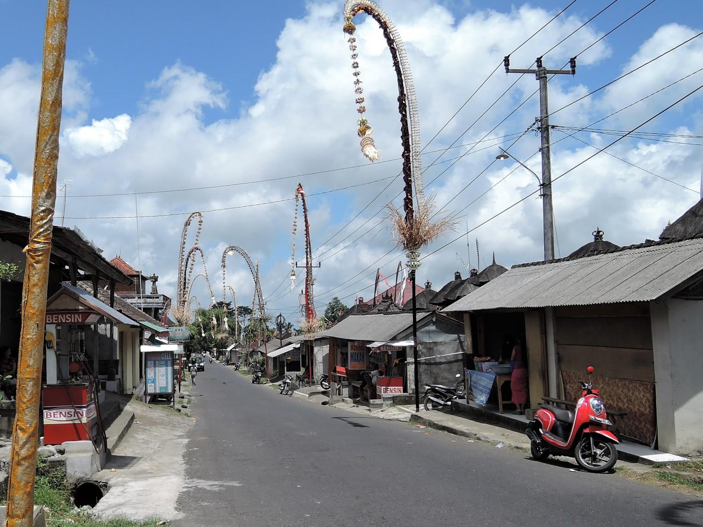 Conhecendo Bali, ruas de Ubud
