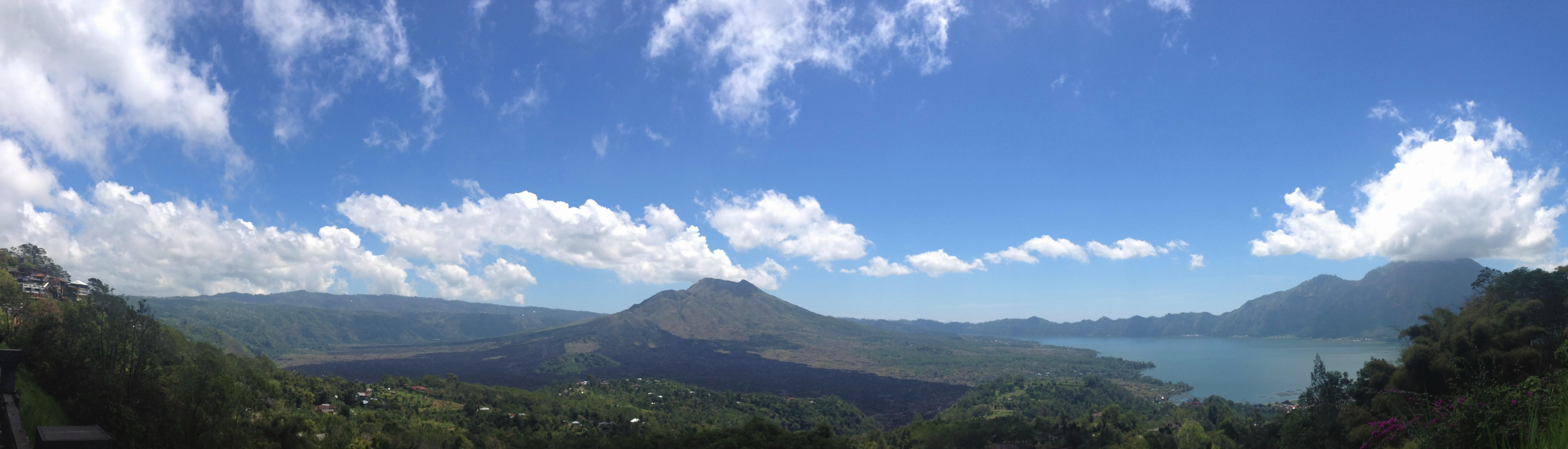 Vulcões na Indonésia