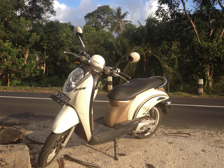 Motos em Bali